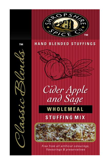 Cider Apple & English Sage Wholemeal Stuffing Mix