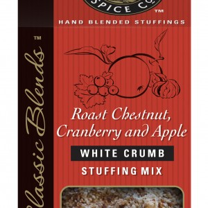 Roast Chestnut, Cranberry & Apple
