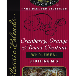Cranberry, Orange & Roasted Chestnut Wholemeal Stuffing