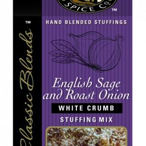 English Sage & Roast Onion White Crumb Stuffing Mix