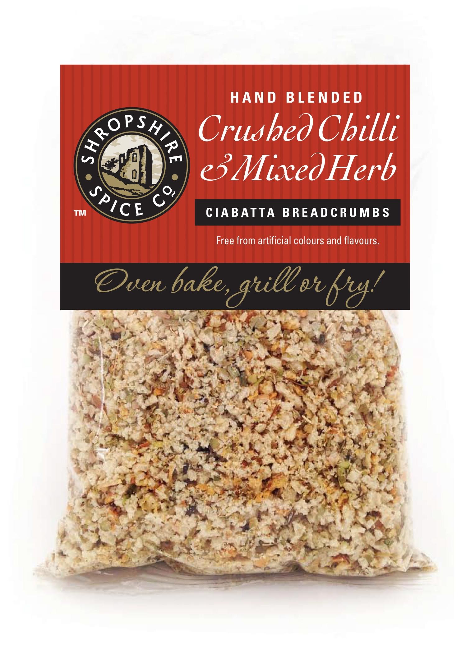Crushed Chilli & Mixed Herb Ciabatta Breadcrumbs