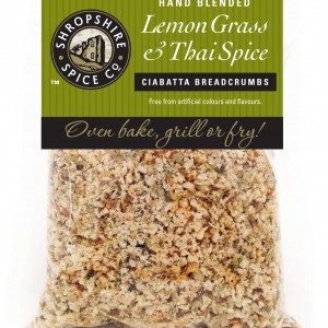 Lemon Grass & Thai Spice ciabatta breadcrumbs