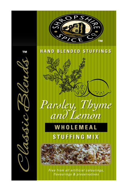 Parsley, Thyme & Lemon Wholemeal Stuffing Mix