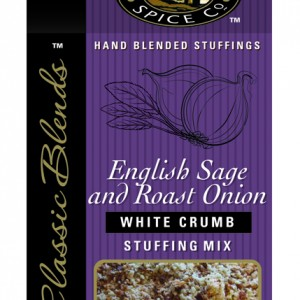 English Sage & Roast Onion White Crumb Stuffing Mix