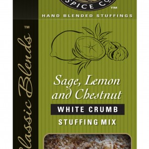 Sage, Lemon & Roasted Chestnut