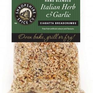 Italian Herbs & Garlic Ciabatta Breadcrumbs