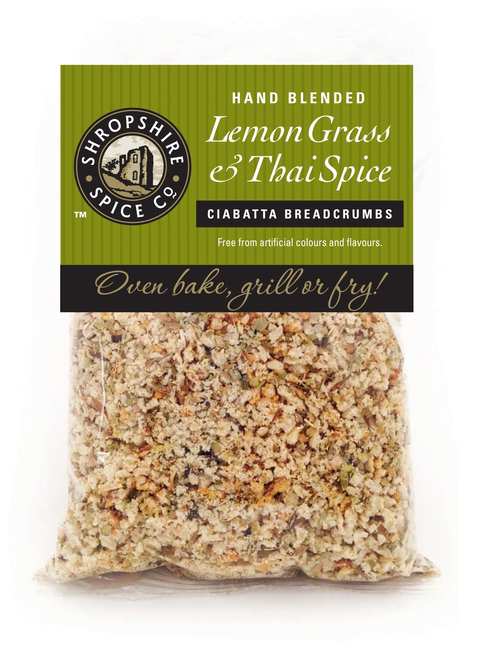 Lemon Grass & Thai Spice ciabatta breadcrumbs